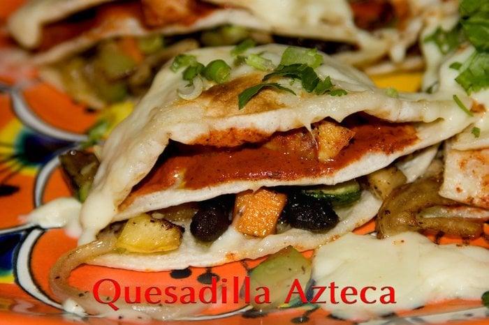 Quesadilla azteca yelp for Alejandra s mexican cuisine