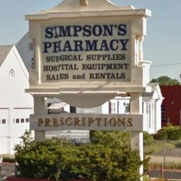 Simpson S Pharmacy Drugstores 10 Newport Ave