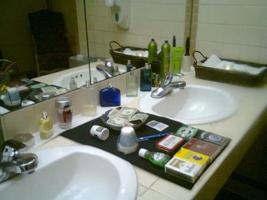 Club Pamper Restroom Attendant Service Closed Event Planning