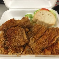 Photo Of Charlies Seafood Restaurant Lafayette La United States Small Catfish Platter