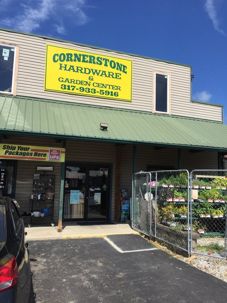 Cornerstone Hardware & Garden Center: 7742 S Nineveh Rd, Nineveh, IN