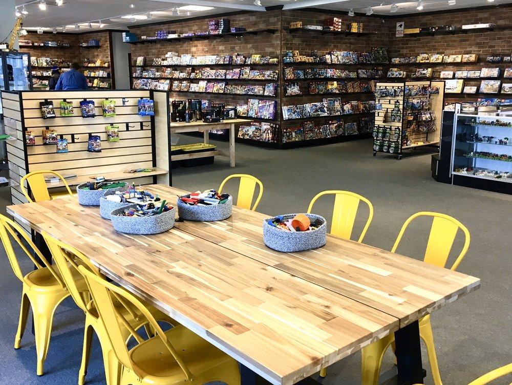 The Minifig Shop: 200 S Kirkwood Rd, Kirkwood, MO
