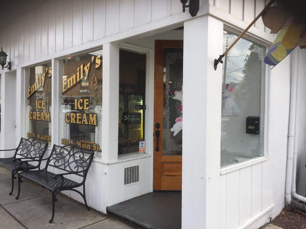 Emily's Ice Cream: 100 S Main St, Nazareth, PA