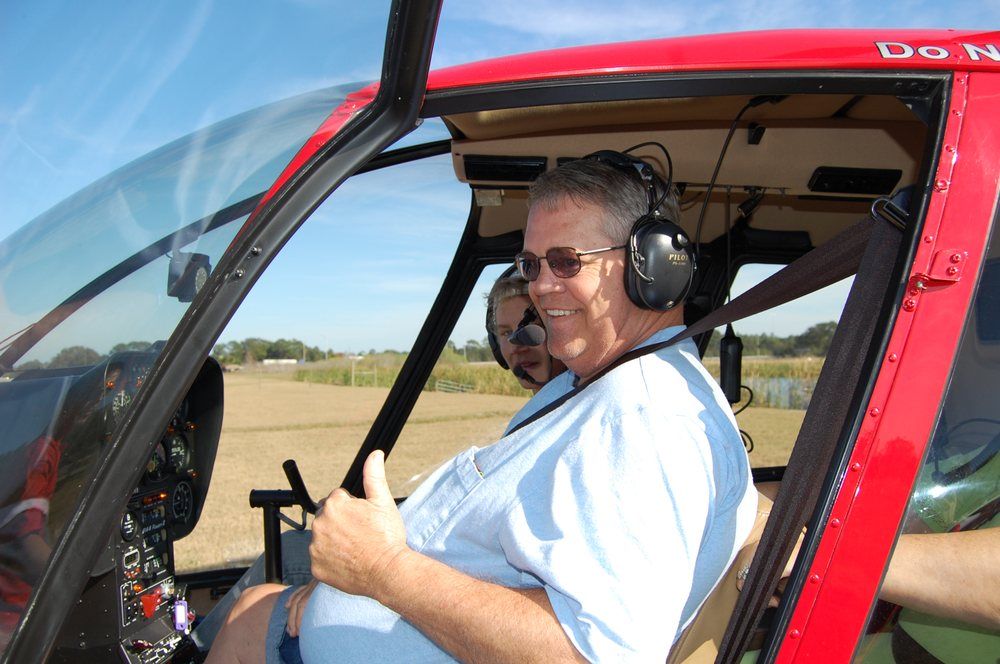 Heli-Hogs BBQ and Helicopter Rides: 760 Hull Rd, Ormond Beach, FL