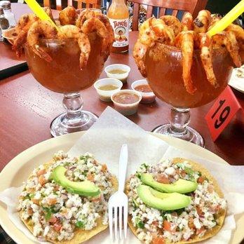 Photo Of Tequila S Taqueria Livermore Ca United States Shrimp Micheladas And Fish