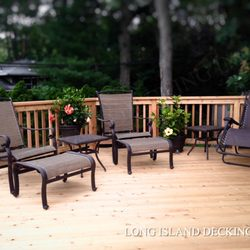 Photo Of Long Island Decking Park Ny United States Knotty Cedar