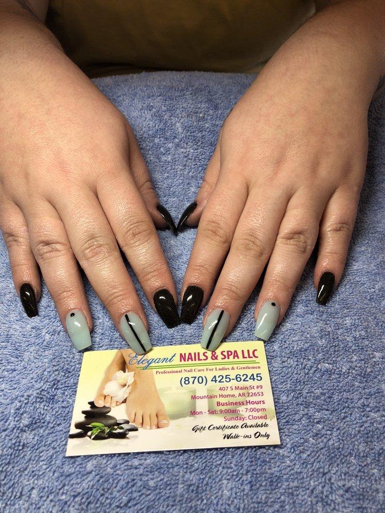 Elegant Nails: 407 S Main St, Mountain Home, AR