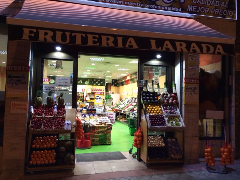 Fruteria larada greengrocers paseo imperial 33 - Paseo imperial madrid ...