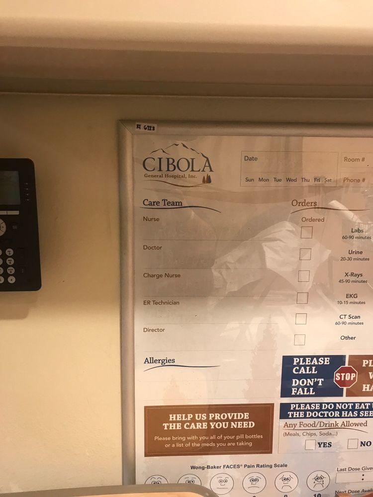 Cibola General Hospital: 1016 E Roosevelt Ave, Grants, NM