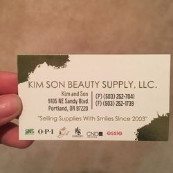 Photo Of Kim Son Nails Beauty Supply Portland Or United States