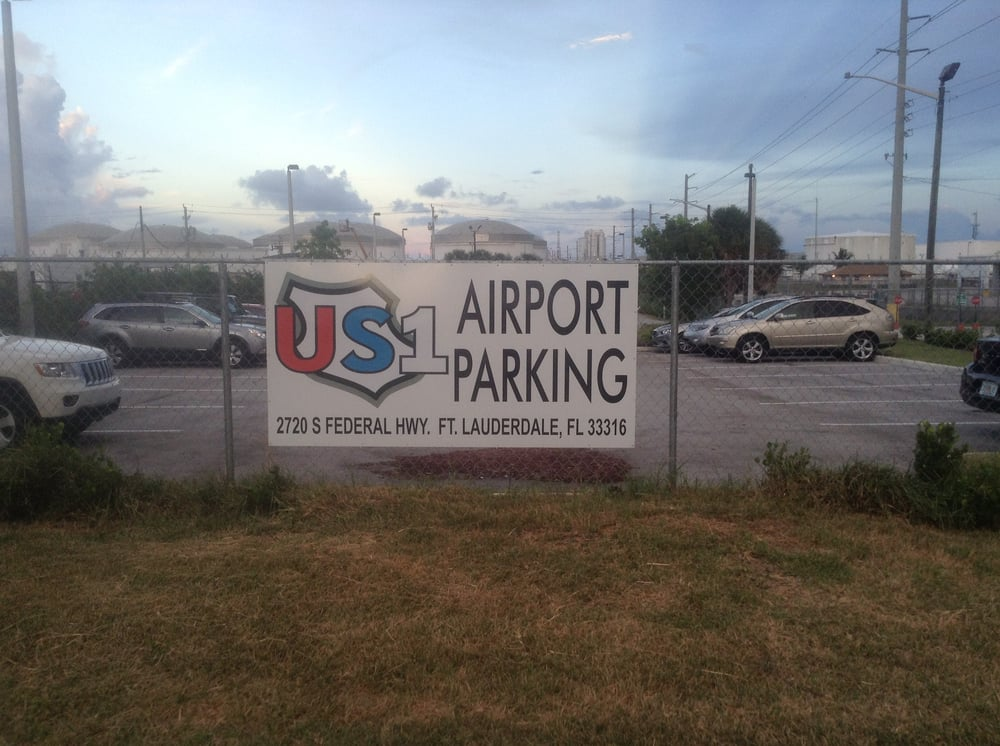 US1 Airport Parking offers safe, secure, discounted long-term parking while you fly and is conveniently located.5 mi. north of the terminals at Ft. Lauderdale International Airport on US-1 .