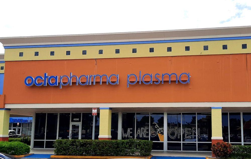 Octapharma Plasma: 4690 NW 183rd St, Miami Gardens, FL