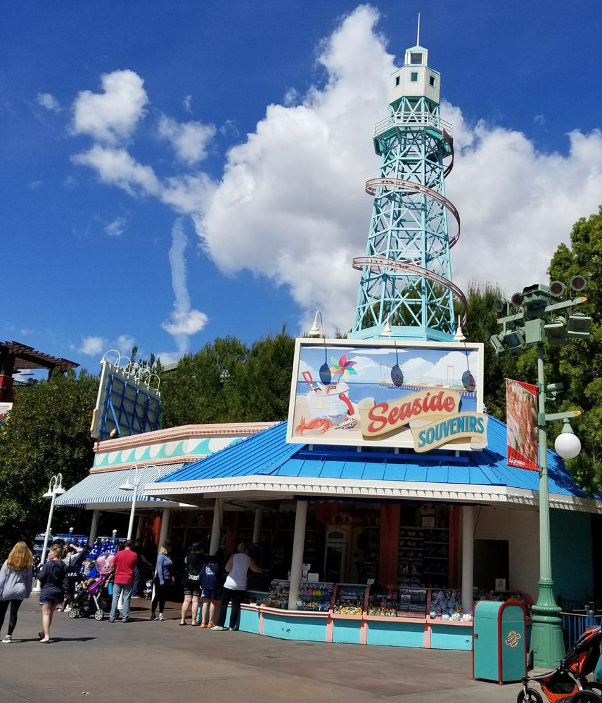 Seaside Souvenir: 1313 Disneyland Dr, Anaheim, CA