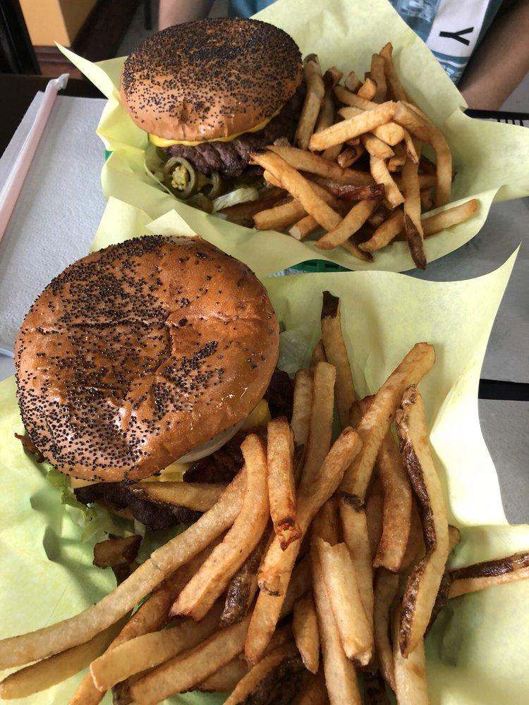 Flaming Burger: 11255 Garland Rd, Dallas, TX