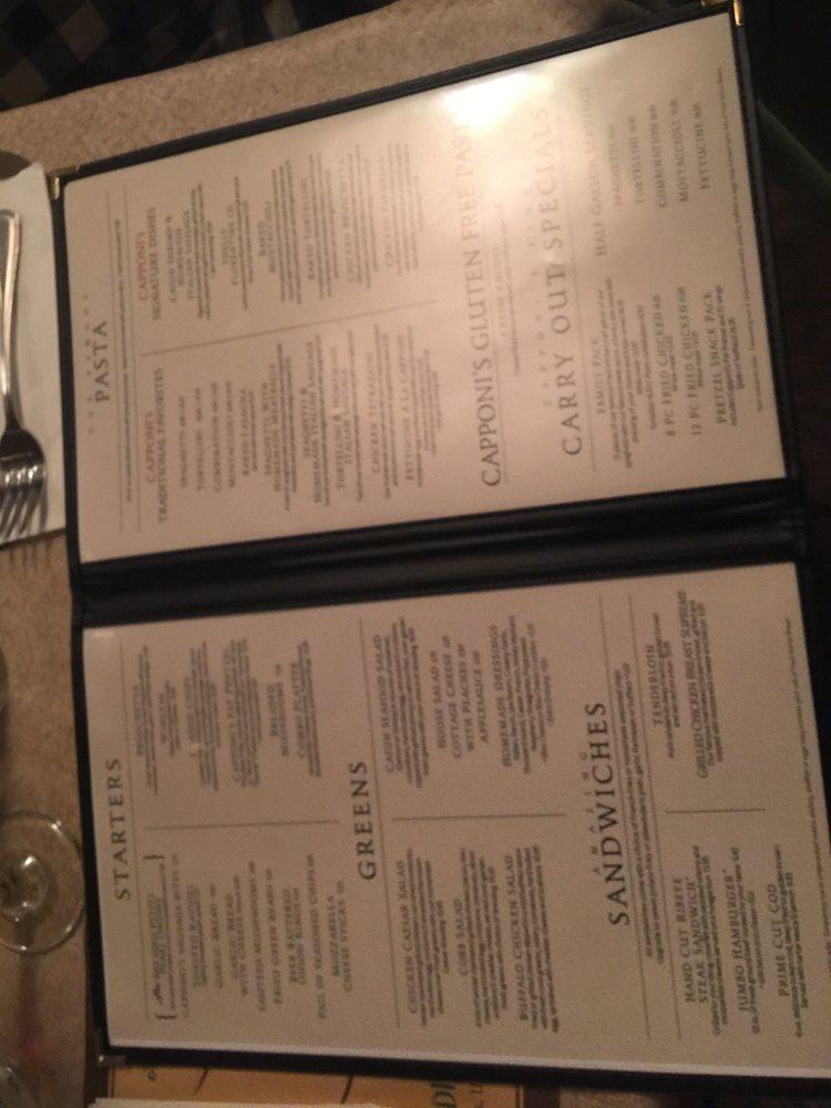 Capponi's Restaurant: 302 N Main St, Toluca, IL