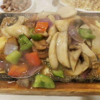 photo of lei garden cupertino ca united states abalone and vegetable sizzling - Lei Garden Cupertino