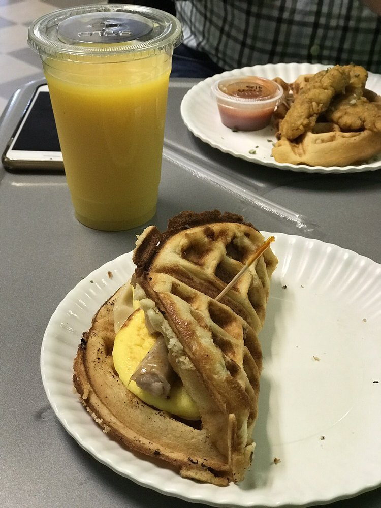 Food from Soul Waffle