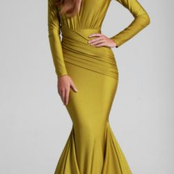 Yellow Couture Dress