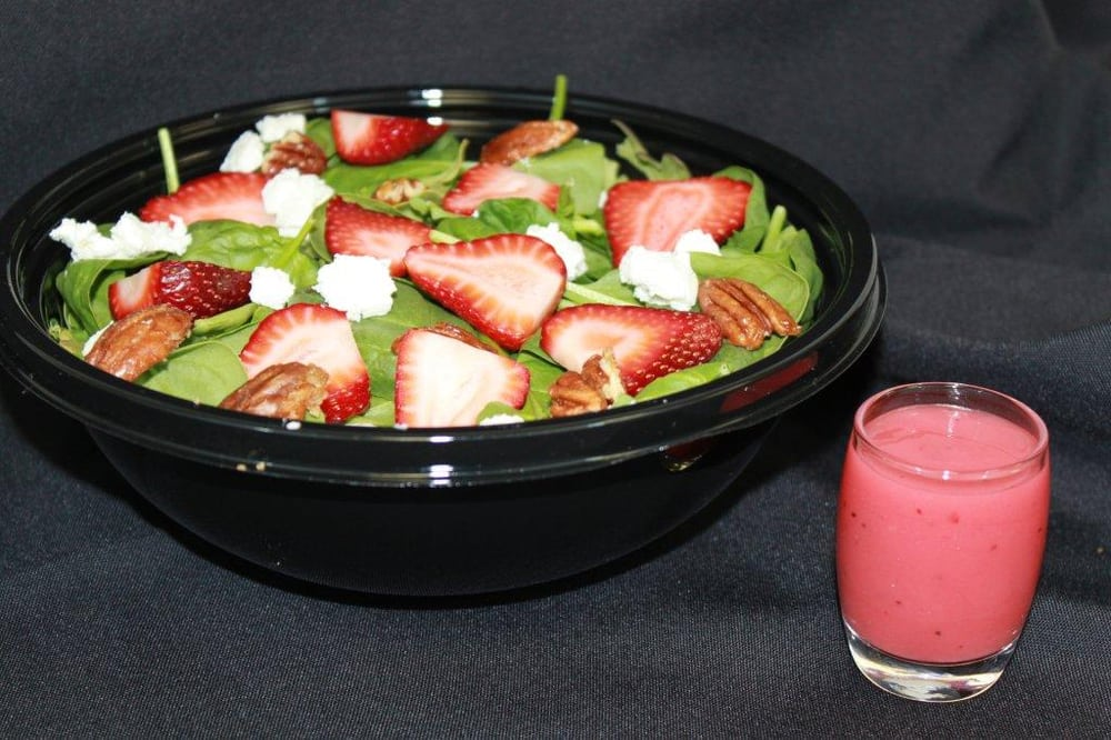 Strawberry cream salad yelp