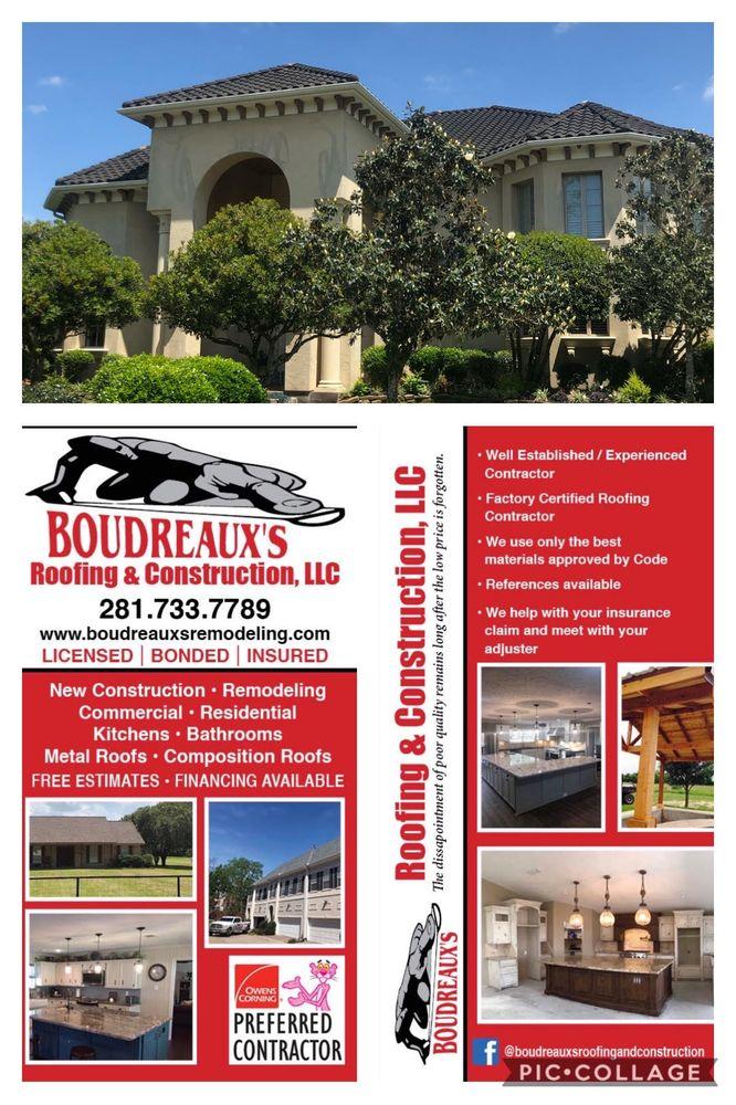Boudreaux's: 411 Kernohan St, Crosby, TX