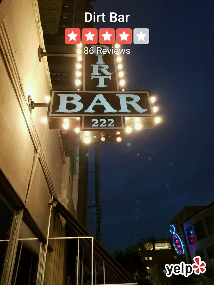 Dirt Bar: 1209 Caroline, Houston, TX