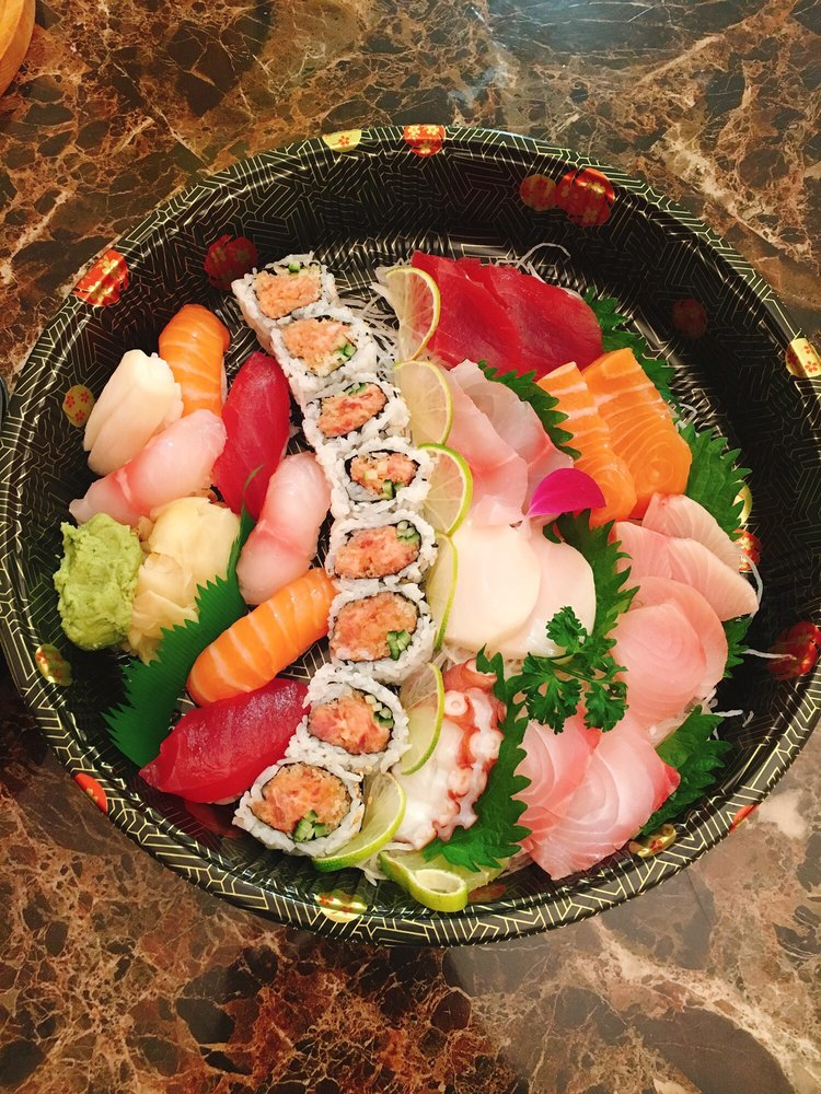 Food from Sakura Japanese Restaurant