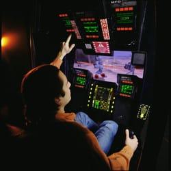 mech arcade machine