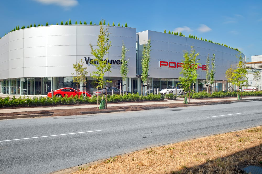 The New Porsche Centre Vancouver at 688 Terminal Ave. - Yelp