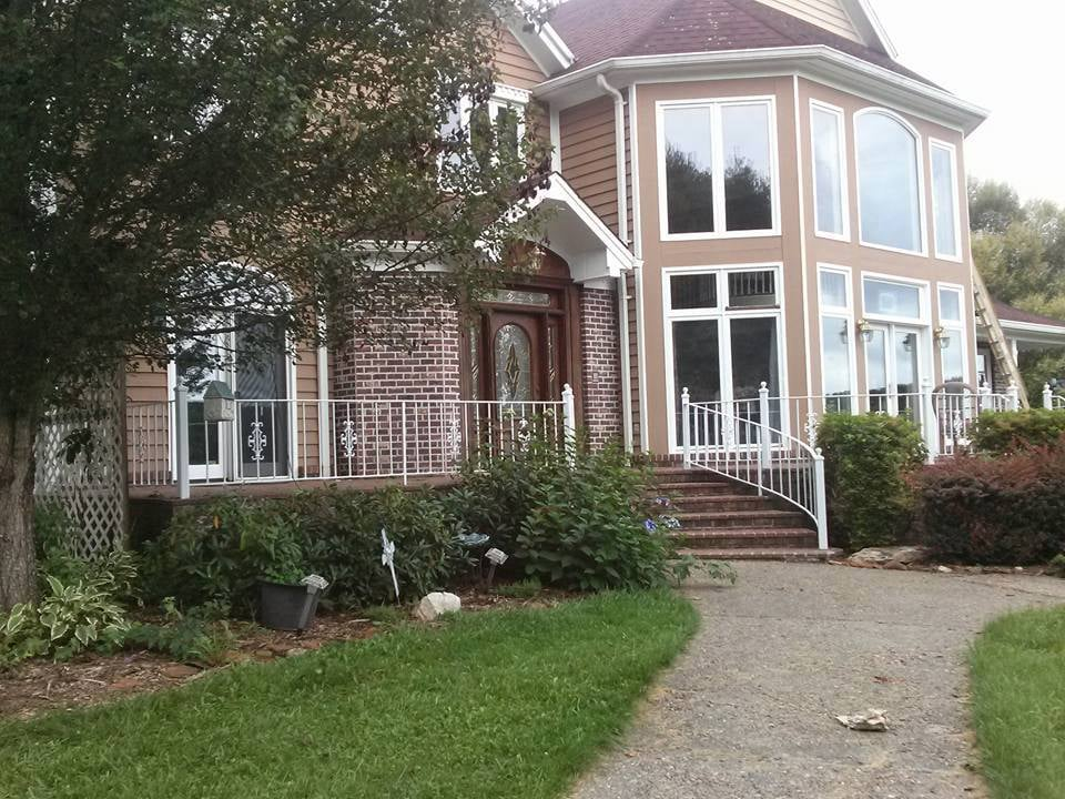 Repainted Exterior House Trim And Rails Yelp