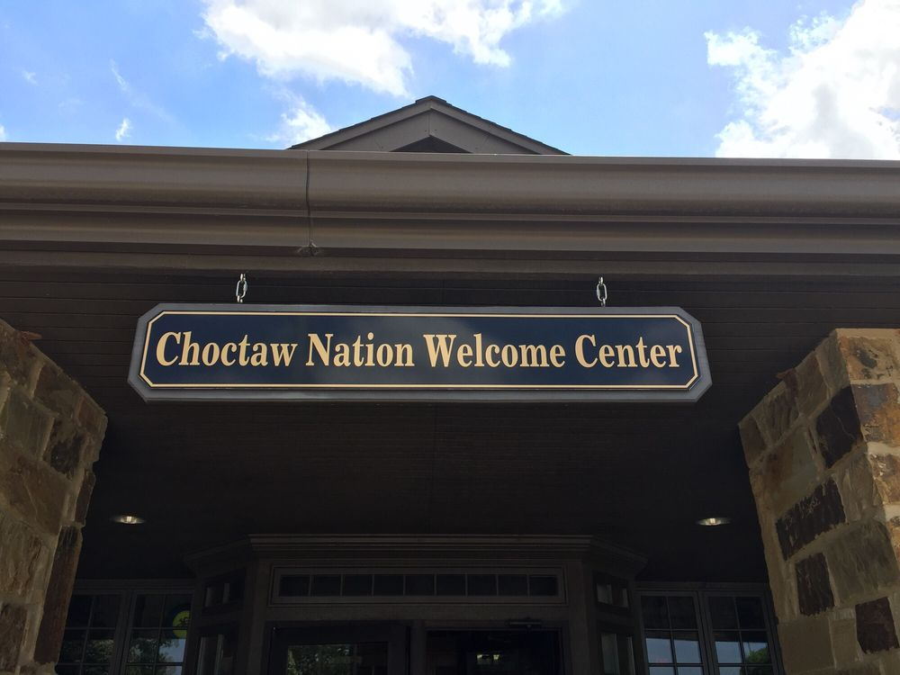 Choctaw Nation Welcome Center: 1882 HWY 69/75, Colbert, OK