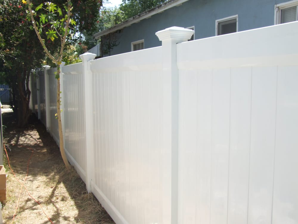 Privacy White 6 Foot High Fence Yelp