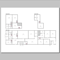 Photo Of Floor Plan Drawings   Los Angeles, CA, United States