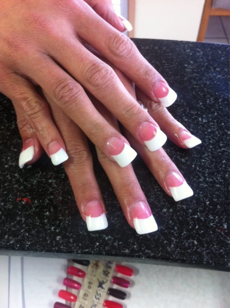 Photo of Super Nails & Tan - Concord, CA, United States. Wide duck - Wide Duck Nails Pink And White - Yelp
