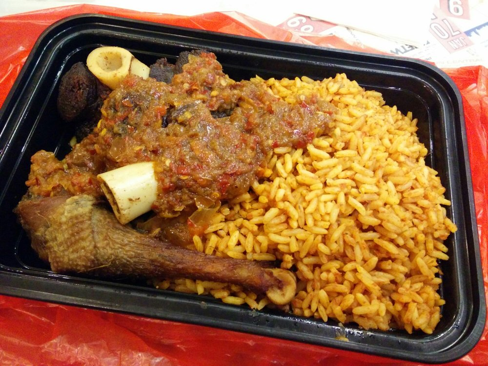 Jollof Rice With Chicken And Goat Yelp
