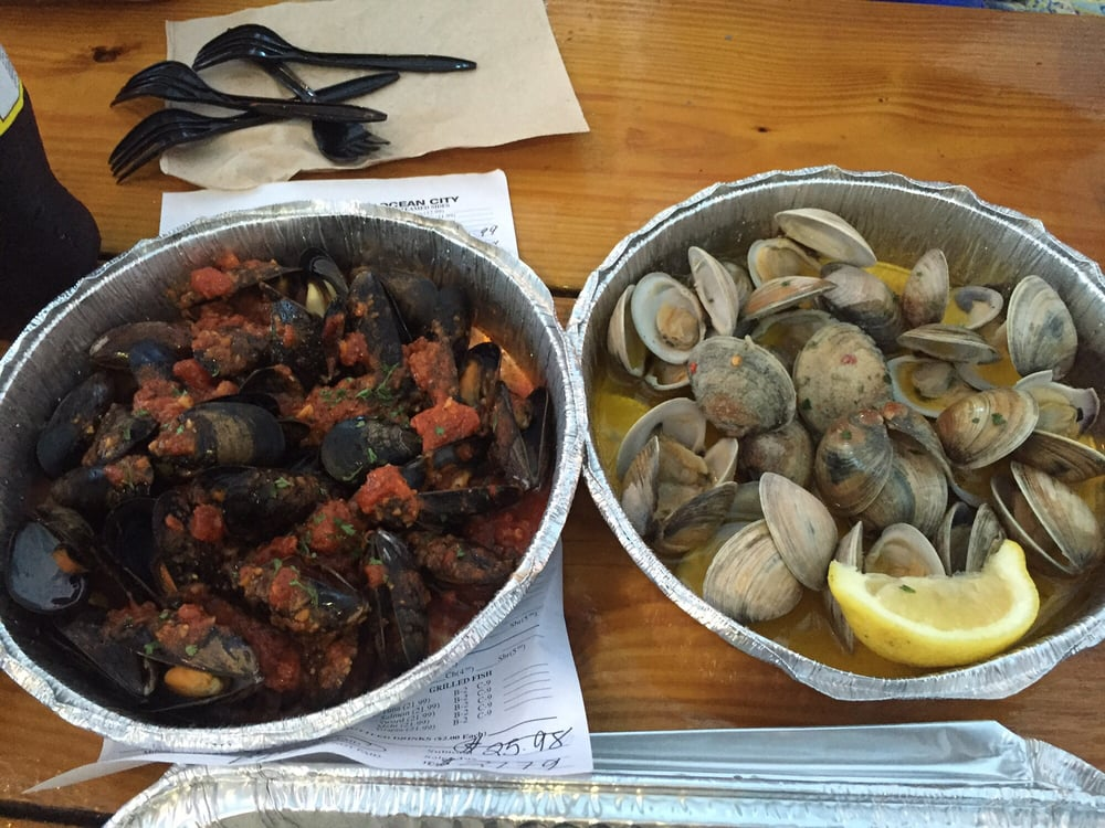 Mike s seafood of ocean city 22 photos 49 reviews for Fish market jersey city