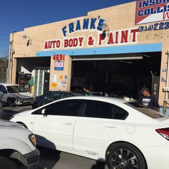 Franks Body Shop >> Frank S Auto Body Paint 4691 Huntington Dr N Montecito Heights