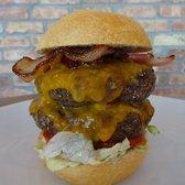 Photo Of Madero Miami Beach Fl United States Double Burger Medium Rare