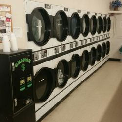 Photo Of Purity Laundry   Bristol, RI, United States. 30 Lb. Dryers