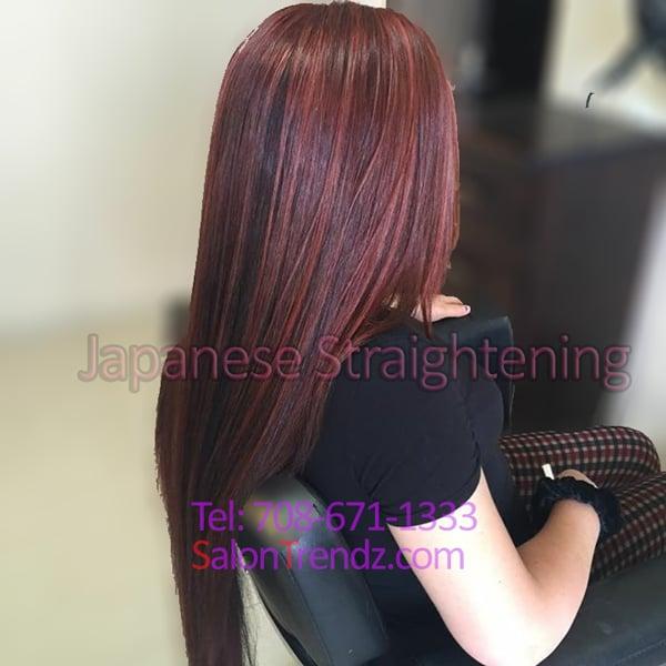 Korean Magic Straightening Perm Japanese Hair