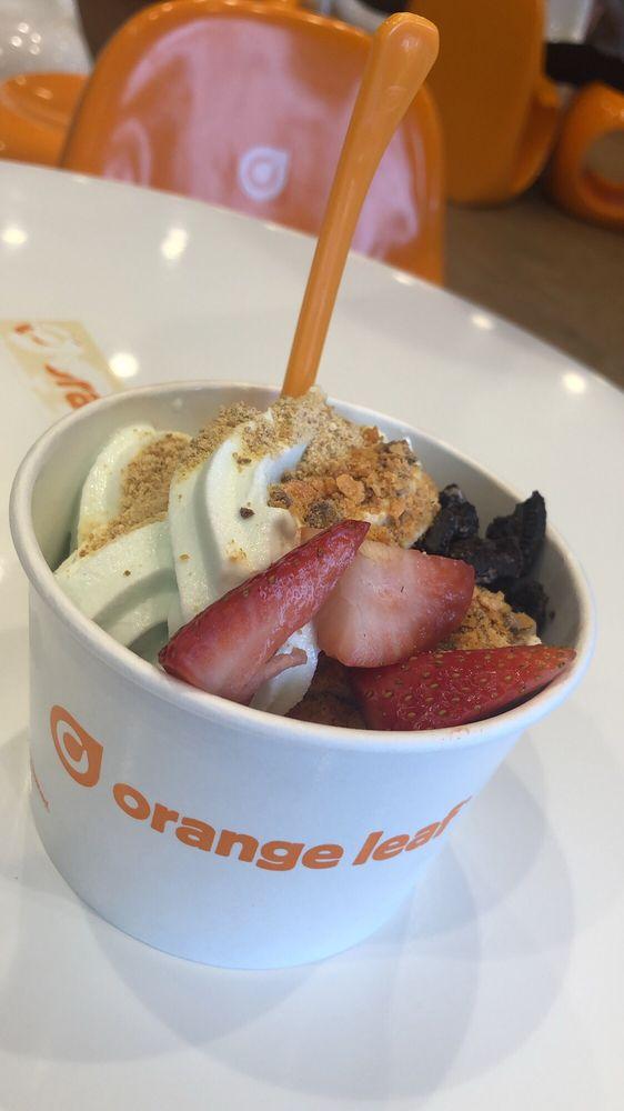 Orange Leaf Frozen Yogurt: 4109 4th St SW, Mason City, IA