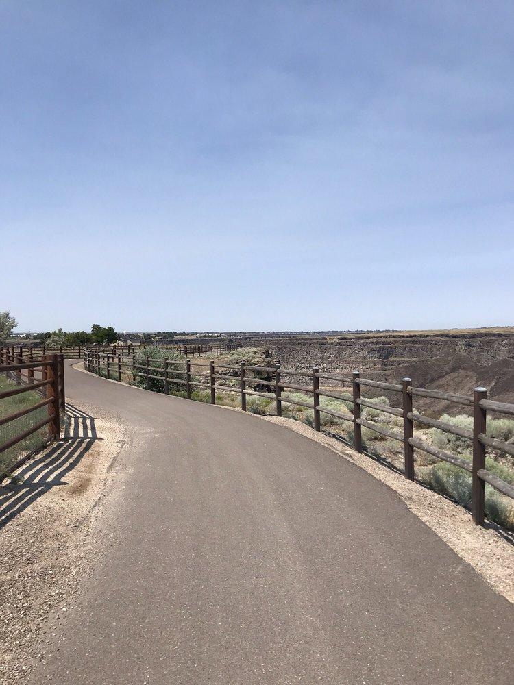 Evel Kneviel Jump Site: 4000 A N 3200 E, Twin Falls, ID