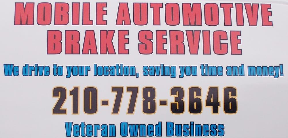 Mobile Automotive Brake Service: San Antonio, TX