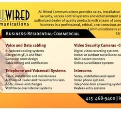 All Wired Communications - 21 Reviews - Electricians - Visitacion ...
