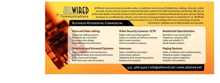 All Wired Communications