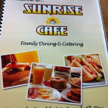 Sunrise Cafe St Catharines On