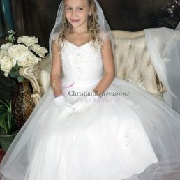 9fc00bf2640 Photo of First Communion Dresses-Christian Expressions - Cranston