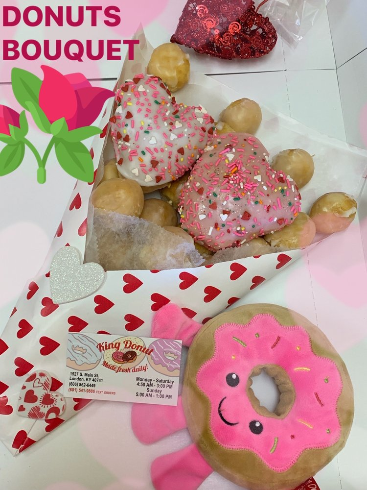 King Donuts: 1527 S Main St, London, KY