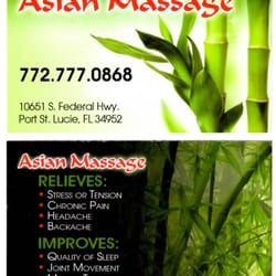 Asian massage saint johns in