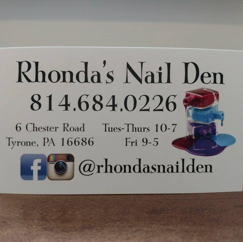 Rhonda's Nail Den: 6 Chester Rd, Tyrone, PA