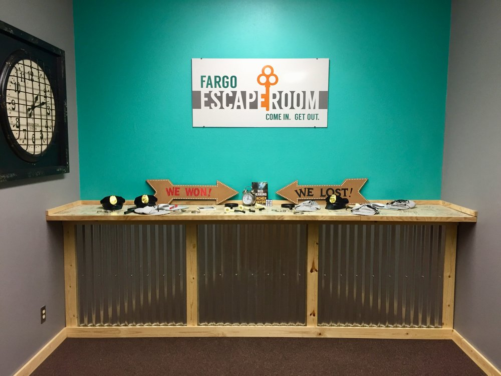 Fargo Escape Room: 2220 Main Ave E, West Fargo, ND